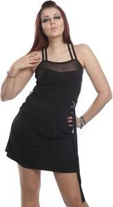 Czarna sukienka Black Alchemy z bawełny