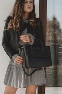 Torebka Fashion Manufacturer w stylu glamour ze skóry ekologicznej