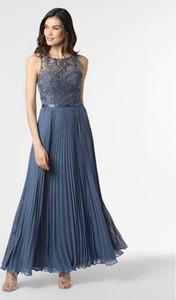 Sukienka Luxuar Fashion maxi z okrągłym dekoltem bez rękawów