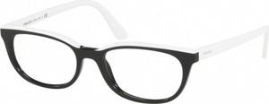 Okulary damskie Prada w sportowym stylu