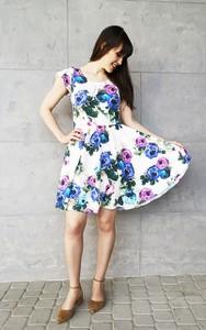 Sukienka Sklepfilloo mini z krótkim rękawem