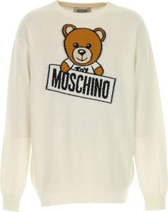 Brązowy sweter Moschino