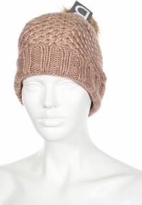 Brązowa czapka B
