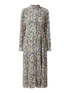Sukienka Tom Tailor koszulowa w stylu casual z długim rękawem