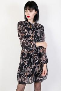 Sukienka Olika w stylu casual z kołnierzykiem mini