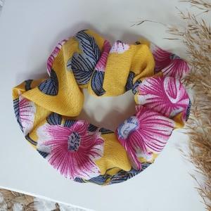 Vezzi Gumka scrunchies,musztardowy,różowy O4V90005-11