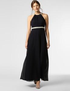 Granatowa sukienka VM bez rękawów maxi