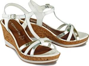 Sandały Tamaris z klamrami