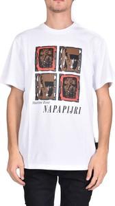 T-shirt Napa By Martine Rose z krótkim rękawem z bawełny w młodzieżowym stylu