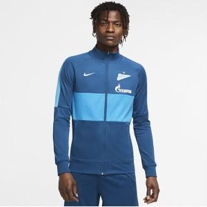 Niebieska bluza Nike z dresówki