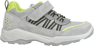 Buty sportowe dziecięce Twisty sznurowane dla chłopców ze skóry
