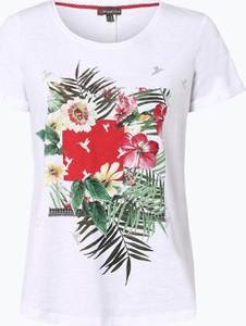T-shirt STREET ONE z krótkim rękawem z okrągłym dekoltem w młodzieżowym stylu