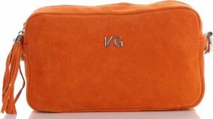 Pomarańczowa torebka VITTORIA GOTTI na ramię