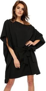 Czarna sukienka Ooh la la oversize