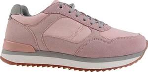 Różowe buty sportowe Sprandi Urban sznurowane