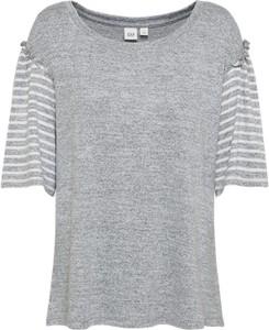 T-shirt gap w stylu casual w paski z krótkim rękawem