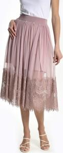 Różowa spódnica Gate midi