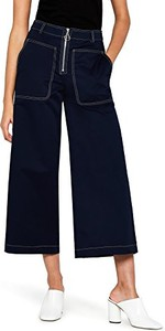 Granatowe spodnie amazon.de w stylu retro