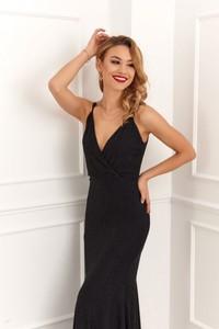 Sukienka Fasardi maxi na ramiączkach