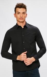 Czarna koszula Calvin Klein z tkaniny