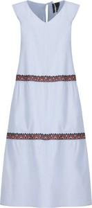 Sukienka Persona by Marina Rinaldi trapezowa z dekoltem w kształcie litery v maxi