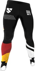 Spodnie sportowe Smmash ze skóry ekologicznej