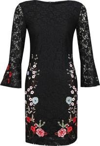 Sukienka Desigual z okrągłym dekoltem