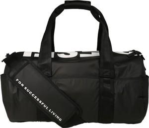 Czarna torba podróżna Diesel