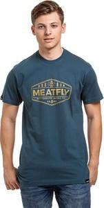 Niebieski t-shirt Meatfly