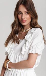 Bluzka Renee z krótkim rękawem w stylu casual
