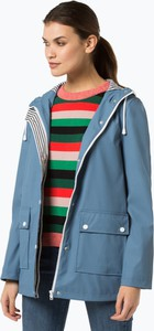 cc8e05dc36007 Niebieska kurtka Marie Lund w stylu casual krótka