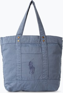 752a778002ad7 Niebieska torebka POLO RALPH LAUREN na ramię w wakacyjnym stylu