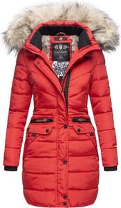 Czerwony płaszcz Navahoo w stylu casual