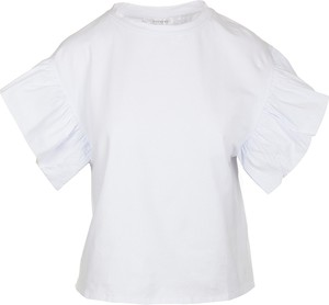 Bluzka Anonyme Designers z okrągłym dekoltem z krótkim rękawem