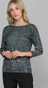 Zielona bluzka Monnari w młodzieżowym stylu