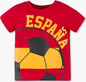 Czerwona koszulka dziecięca Baby Club z bawełny