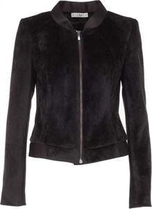 Czarna kurtka VISSAVI w rockowym stylu krótka