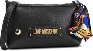 Torebka Love Moschino w stylu casual z aplikacjami średnia