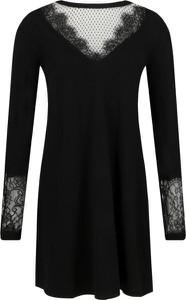 Sukienka Twinset z długim rękawem z okrągłym dekoltem w stylu casual