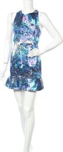 Niebieska sukienka Talulah bez rękawów z okrągłym dekoltem mini