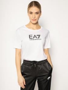 T-shirt Emporio Armani z okrągłym dekoltem z krótkim rękawem