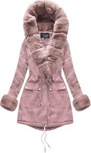 Różowa kurtka Speed.A w stylu casual