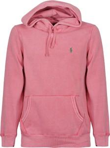 Różowa bluza POLO RALPH LAUREN w młodzieżowym stylu