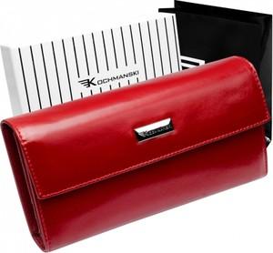 5c703d70693bf Czerwone portfele damskie, kolekcja wiosna 2019