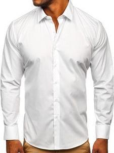 Koszula Denley z bawełny z długim rękawem