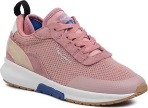 Różowe buty sportowe dziecięce Pepe Jeans