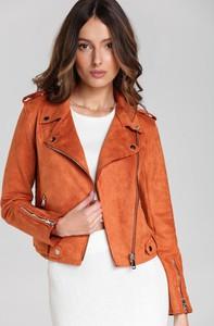 Pomarańczowa kurtka Renee krótka