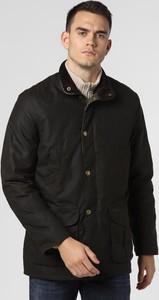 Brązowa kurtka Barbour z bawełny