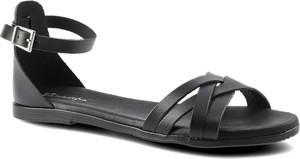 Czarne sandały Maciejka