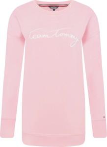 Bluza Tommy Hilfiger z tkaniny w stylu casual